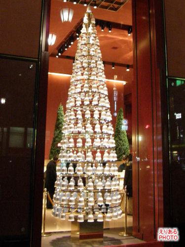 クリスマスツリー@東京銀座資生堂ビル