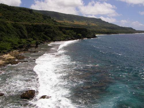 ポーニャ岬のあたり