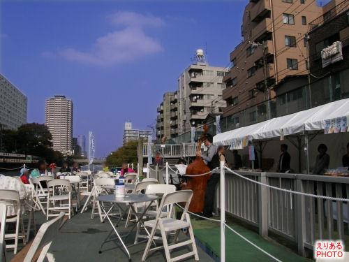 水上カフェ@天神橋水上ステーション