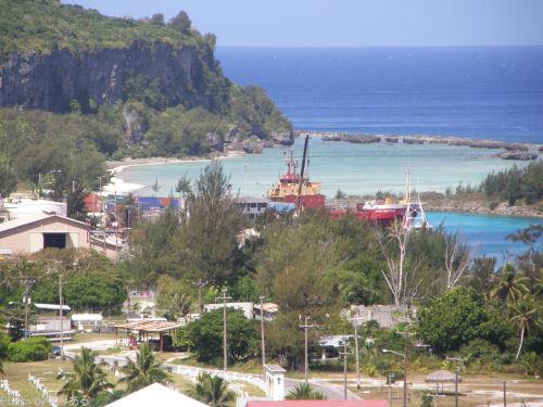 西港とトゥイックスベリー・ビーチ
