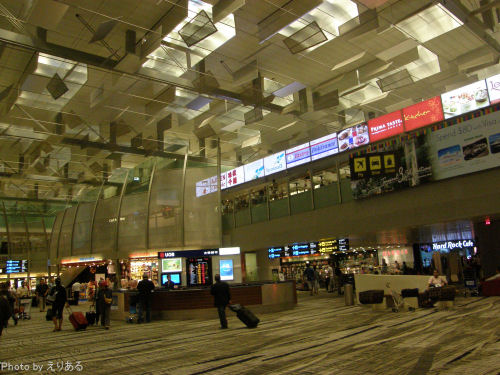 シンガポール チャンギ空港 ターミナル3