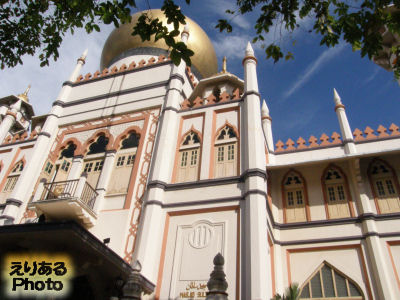 サルタン・モスク(Sultan Mosque)