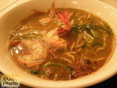 ラージ・プラウン・ヌードル(スープ)(Large Prawn Noodle (Soup))