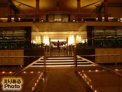 リージェント・シンガポールのレストラン「BASILICO」