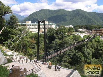 鬼怒楯岩大吊橋(きぬたていわおおつりばし)