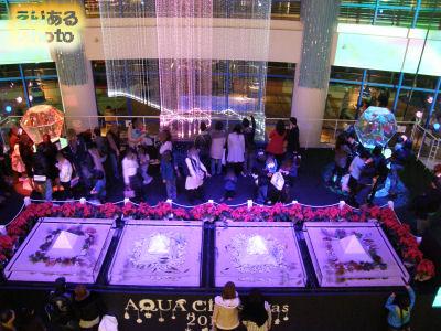 アクアシティお台場 AQUA Christmas 2010