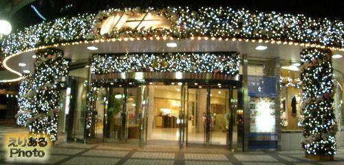 日比谷シャンテ クリスマスイルミネーション2010