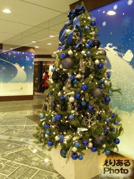 東京駅GRANSTA(グランスタ)のクリスマスツリー