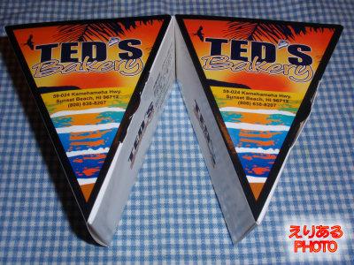 期間限定 大丸東京店のTED'S Bakeryで、リリコイチーズパイとパイナップルチーズケーキ