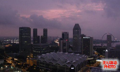 7日目、シンガポールの朝