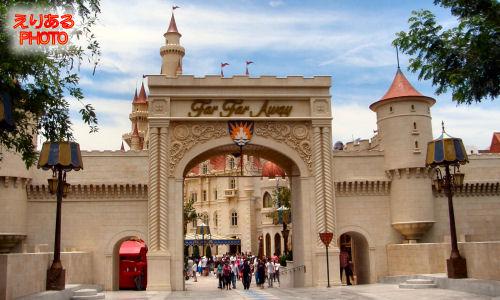 遠い遠い国(Far Far Away)へ@ユニバーサル・スタジオ・シンガポール(Universal Studios Singapore)