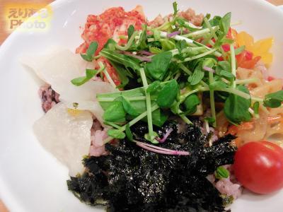 8品目野菜の十穀米ビビンバ@Vegaけなりぃ
