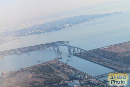 ANA機内からの風景
