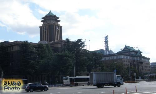 名古屋市役所と愛知県庁