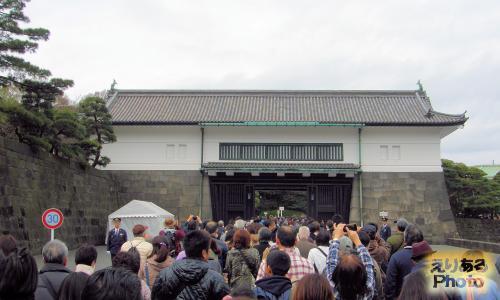 皇居乾通り一般公開2016
