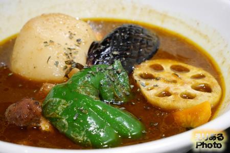 知床鶏のスープカレー@北海道チューボー グランアージュ