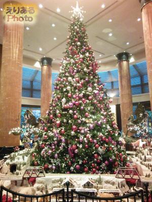 ウェスティンホテル東京のクリスマスツリー2016