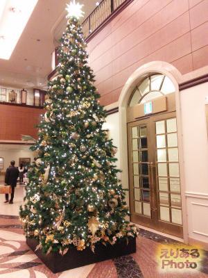第一ホテル東京のクリスマスツリー2016