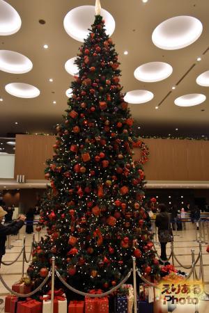2016年の東京ドームホテルのクリスマスツリー