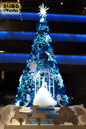 二子玉川ライズのクリスマスツリー