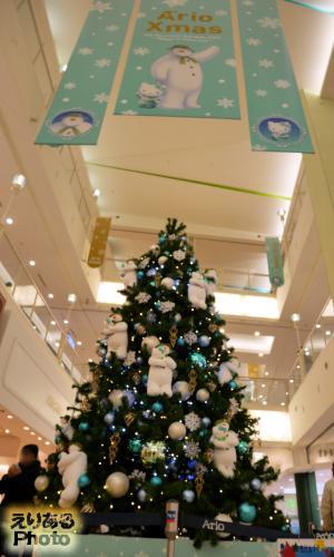 アリオ亀有のクリスマスツリー