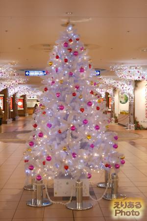 八重洲地下街のクリスマスツリー2016