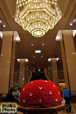 2016年の帝国ホテルのブリザードフラワー