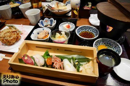 寿司とすき焼きのごちそう御膳