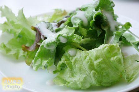 ランチセット 野菜サラダ