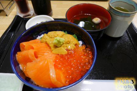 三色丼@うにむらかみ