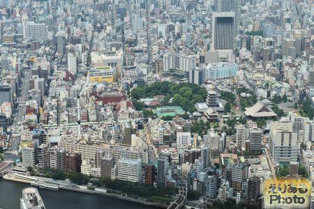 東京スカイツリー 天望回廊からの風景
