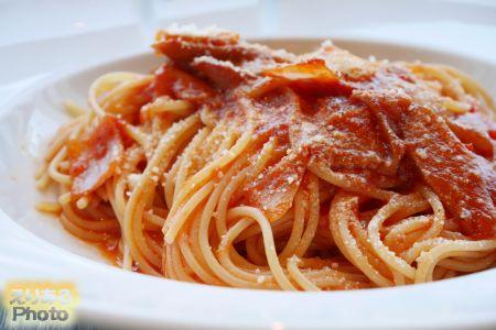 ナポリタンスパゲッティ@Trattoria Pizzeria LOGiC Marina Grande