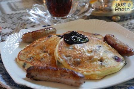 The Elmwood Heritage Inn(エルムウッドヘリテージイン)の朝食