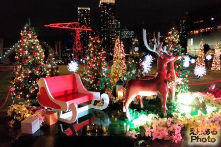 アーバンドックららぽーと豊洲のクリスマスイルミネーション2017