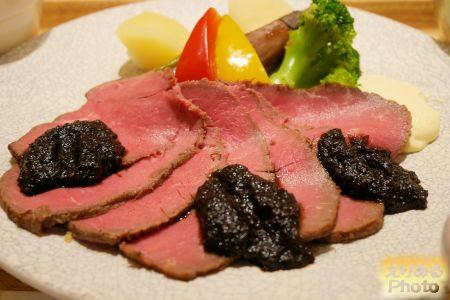 ローストビーフ@丸の内タニタ食堂
