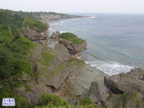 喜屋武岬からの展望