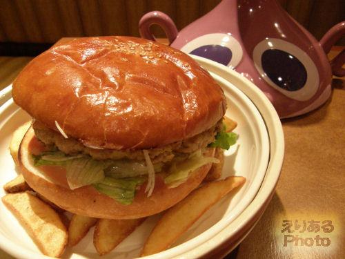 大魔王のハンバーガー