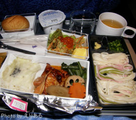 機内食 和食
