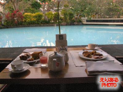 朝食ブッフェ@レストラン「バンユーヴィル(Banyubiru)」