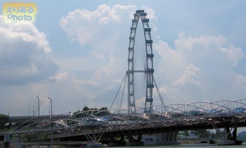 ダックツアー シンガポール・フライヤー(SINGAPORE FLYER)
