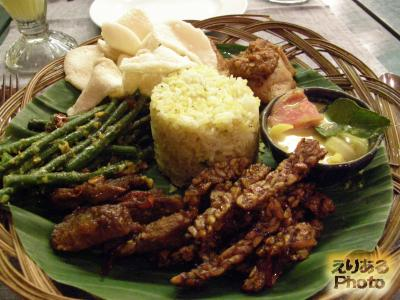 Nasi Campur - Indonesian Assorted Rice@Balique Restaurant