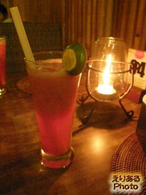 スイカジュース@イカン・バカール Menega Cafe