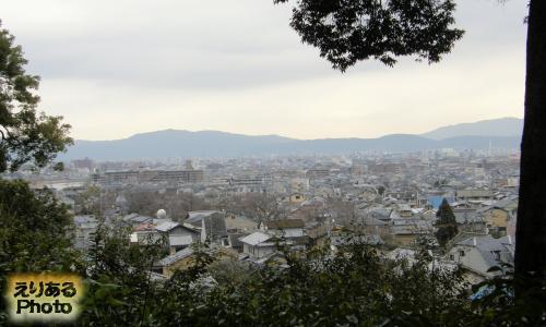 妙徳山 華厳寺 鈴虫寺からの風景