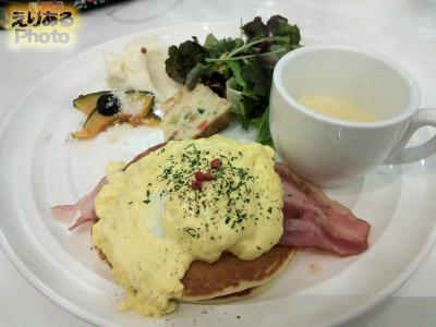 エッグベネディクトプレート@Butter Premium ららぽーと豊洲