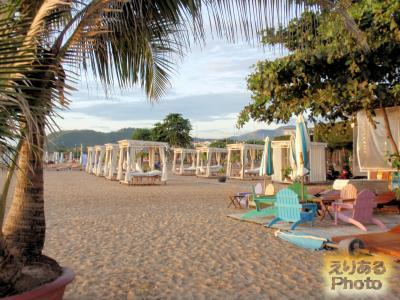 ベトナム・ニャチャンのビーチ