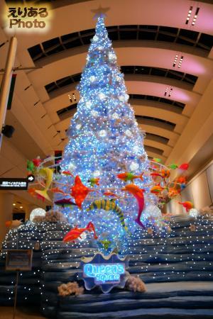 クイーンズスクエア横浜クリスマス2016