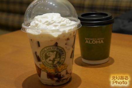 ココナッツコーヒーぜりーとコナコーヒー@ホノルルコーヒー ダイバーシティ東京プラザ店