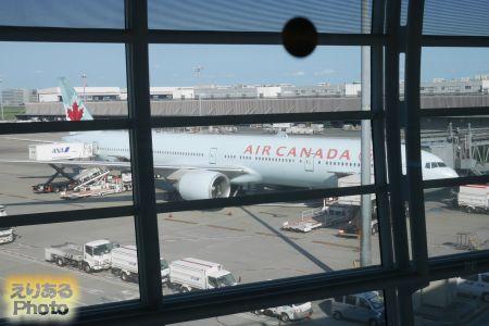 エア・カナダ機@羽田空港
