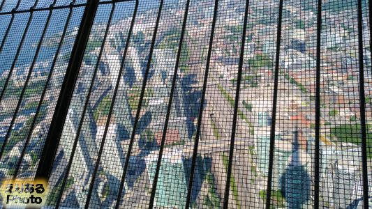 CNタワー outdoor SkyTerrace(屋外展望台)