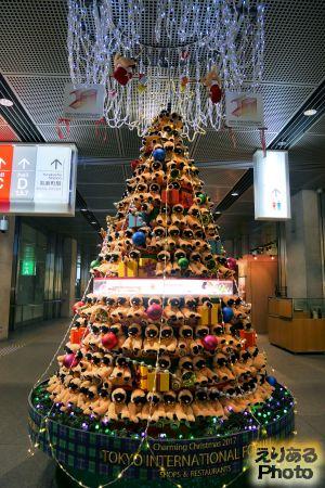 2018年東京国際フォーラムのクリスマスツリー